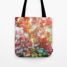 Enaustic Galaxy  Tote Bag
