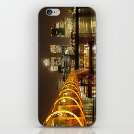 London, Piers of Docklands Hilton iPhone Skin