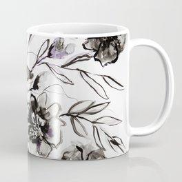 Ink Flowers Coffee Mug