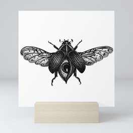 All-Seeing Scarab Mini Art Print