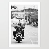GoGo Harley Art Print
