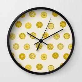 sandcastle spot ivory Wall Clock