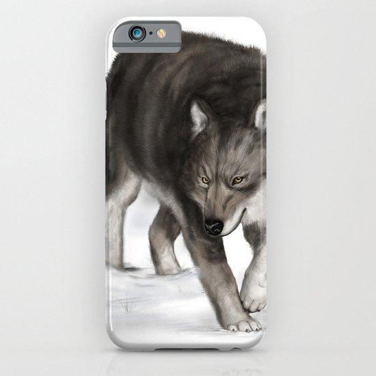 Arctic wolf iPhone & iPod Case