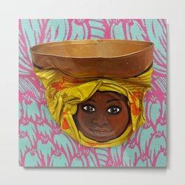 AfriCan Sister Metal Print
