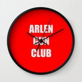 Arlen Gun Club Wall Clock