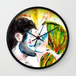 Crazy in Love III Wall Clock