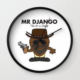 Mr Django Wall Clock