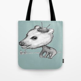 NORDIC ANIMAL  - BOBO THE BEAR / ORIGINAL DANISH DESIGN bykazandholly  Tote Bag