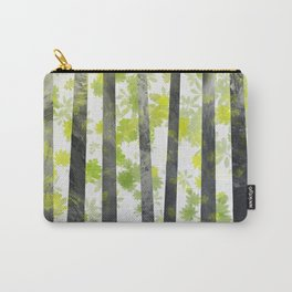 Trees, herbs and leaves in the forest Carry-All Pouch