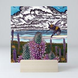 Prairie Scrap 1 Mini Art Print