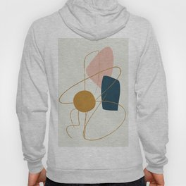 Minimal Abstract Shapes No.46 Hoody