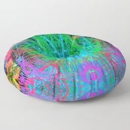 The Crystalline Androgyne Floor Pillow