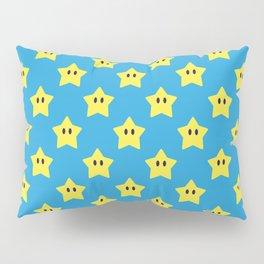 Stars (Bright Blue) Pillow Sham