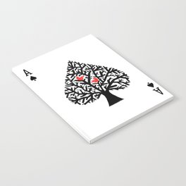 Ace of spade Notebook