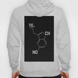 Techno serotonin molecule Hoody
