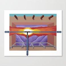 House of the Sun Cloud Canvas Print