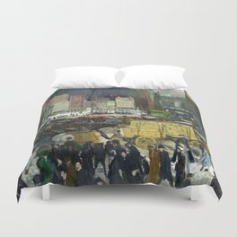 New York - George Bellows Duvet Cover