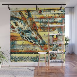 AnimalArt_Giraffe_20170901_by_JAMColorsSpecial Wall Mural