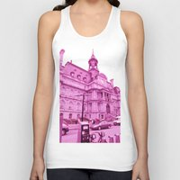 montreal Tank Tops featuring Montreal 8395 by Korok Studios