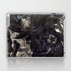 goth peony Laptop & iPad Skin