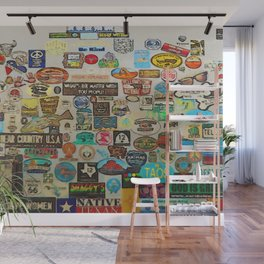 My Cool Decals - Travel Stickers Wall Mural