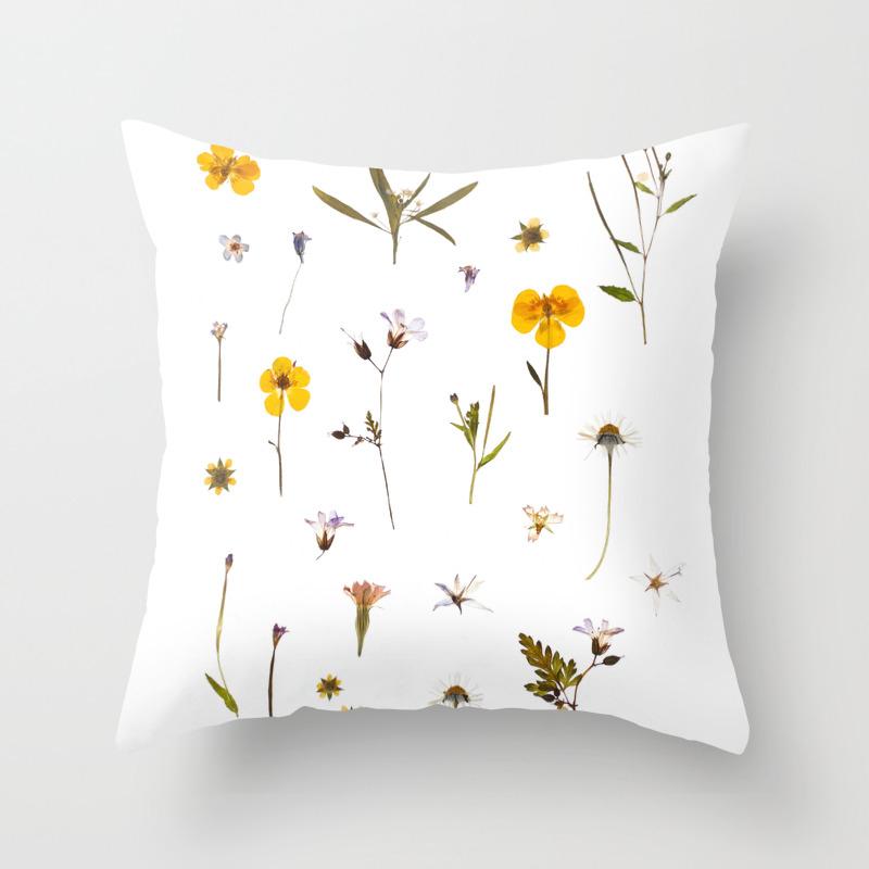 Wild Flower Meadow Throw Pillow By Wilderandwren Society6