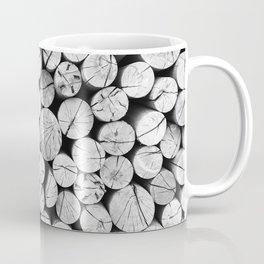 Wood Log Tree Trunk Realistic Soft Velvet Foam Pil Throw Pillow Coffee Mug