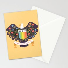 Dreaming (not Screaming) Eagle Stationery Cards