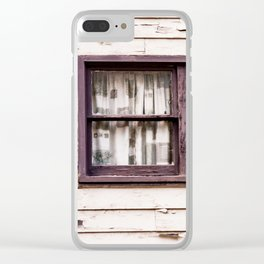Window. Downieville. California. USA Clear iPhone Case