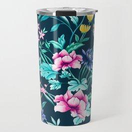 Colorful Spring flowers bloom Travel Mug