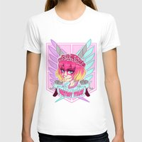 teen titans T-shirts featuring DESTROY TITANS by CLUB GALAXY