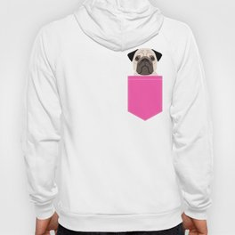 Taylor - Pug dog art phone case for pet lovers and dog people Hoody