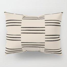 stripes offset Pillow Sham