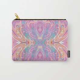 Acrylic Butterfly Carry-All Pouch