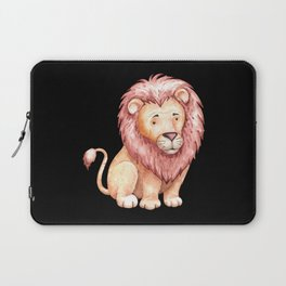 Watercolor Lion gift for lion fans Laptop Sleeve