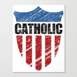 Catholic Canvas Print