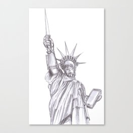 C3PO Liberty Canvas Print