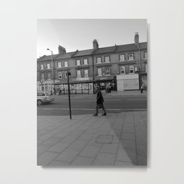 Man Walking Metal Print