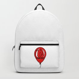 IT We All Float Down Here Red Balloon Backpack