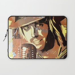 Tom Petty. painting. learning to fly. Laptop Sleeve