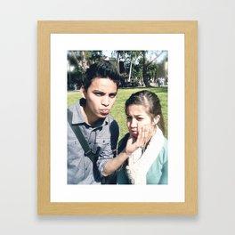 Michelle & I Framed Art Print