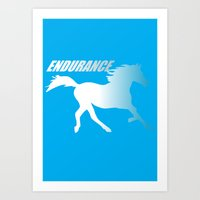napoleon dynamite Art Prints featuring Endueance Napoleon dynamite by Buby87