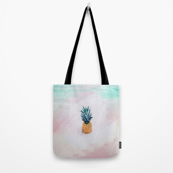 Pineapple on the beach Tote Bag