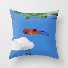 Paraturtle Throw Pillow