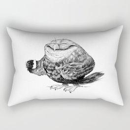 Owl needs Coffee Rectangular Pillow