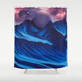 BLUEMIC MIMESIS M716 Shower Curtain