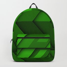 green arrows  material design creative geometric shapes lollipop arrows green material design strips Backpack