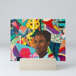 Life in Chaos and Peace Mini Art Print