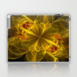 Explosion of a Flower Laptop & iPad Skin