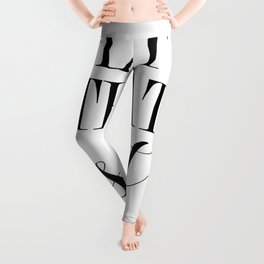 forgive them all and move on , stress buster Leggings